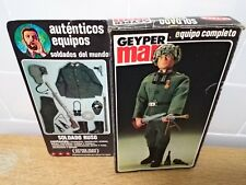 geyperman vintage soldado ruso original box ( action man joe team group gijoe )