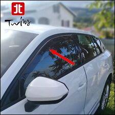 Déflecteurs de vent pluie air teintées pour Audi Q2 depuis 2017 vitres avant