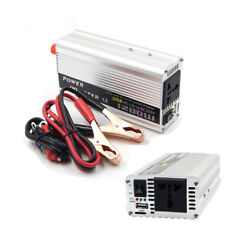 Car 1200W Converter Power Inverter Charger DC 12V to AC 220V Invertor with USB