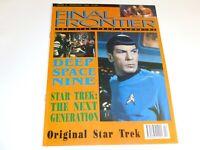 Final Frontier 8 The Star Trek Magazine UK TNG DS9 + 2 posters