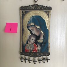 Woven Religious tapestry wall hanging orthodox catholic icon Style 1029