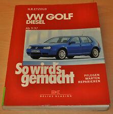 VW Golf Bora IV 4 Diesel 1,9 Liter von 9/97 - 5/05  Reparaturanleitung SWG 112
