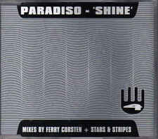 Paradiso- Shine Cd Maxi single mixed by Ferry Corsten