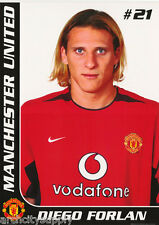 POSTER : SOCCER : DIEGO FORLAN - MANCHESTER -  FREE SHIP'N    #SP0100    RW19 G
