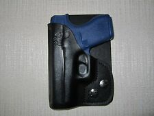 GLOCK 42  380 cal. FORMED LEATHER, right hand, wallet and pocket holster