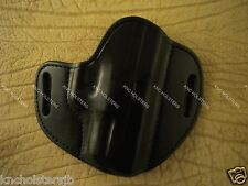 "Springfield XD 4""  Custom Leather Gun Holster Black Made in U.S.A."