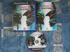 PS2 : BIONICLE : HEROES - Completo, ITA ! In ottime condizioni !
