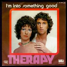 """THERAPY - SPAIN 7"""" LOGO 1978 - I'M INTO SOMETHING GOOD - SINGLE 45 RPM"""
