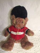 "Keel Toys Queens Guard London UK Royal Bear Plush Stuffed Soft Toy Animal 11"""