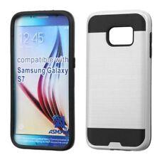 Étuis, housses et coques avec clip argentés Pour Samsung Galaxy S7 pour téléphone mobile et assistant personnel (PDA)