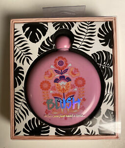 Blush Liquid Courage Pink Flask Stainless Steel 5 Oz NEW Women, Bridesmaid Gift?