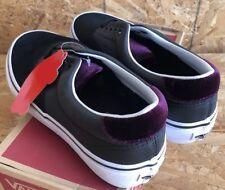Vans Era 59 Velvet Black Red Sz Men's 7.5 / Women's 9 NIB