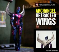 Archangel Retracted WINGS Custom Marvel Legends Accessory by Loosecollector