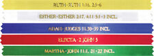 OES Bible Ribbons Order of the Eastern Star bookmark