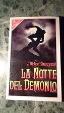 LA NOTTE DEL DEMONIO J. MICHAEL STRACZYNSKI SPERLING & KUPFER TERROR 1990