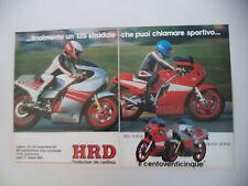advertising Pubblicità 1983 MOTO HRD SH 125 SILVER HORSE/RED HORSE 125