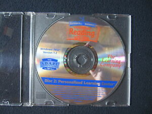 Reader Rabbit Personalized Reading DISC 2 ONLY Ages 6-9 [Learning Company] 1999