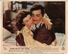 Gone With The Wind Original British Lobby Card Clark Gable Vivien Leigh 1939