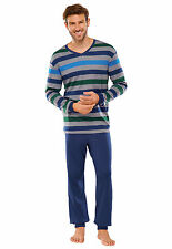 SCHIESSER Hombres Pijama 100% Algodón 48-110 Normal sobre tamaños de largo S-LXL