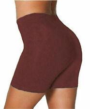 Womens Ladies Cycling Shorts Viscose Over Knee Gym Dancing Active