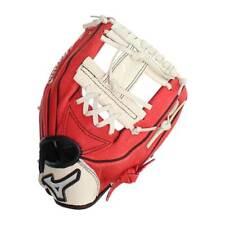 New Mizuno Power Close Prospect Baseball Glove, Kids GPP1000Y2RD LHT Red/Cream