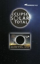 Chile 2019 Brochure Total Solar Moon Eclipse NO STAMP - in spanish only