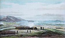 Le CAPITAINE NAPOLEON BONAPARTE au SIEGE de TOULON en 1793 - Très belle planche
