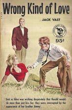National Library Books Wrong Kind of Love Jack Vast Vintage Sleaze Paperback