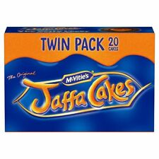 McVities Jaffa Cakes Twin Pack 20 Cakes - Sold Worldwide from UK