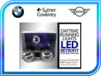MINI NEW GENUINE R55 R56 R57 R58 R59 R60 R61 DAYTIME RUNNING LIGHTS LED FULL SET