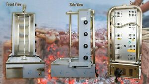 Commercial Donner Machine 4 Burner Archway Doner Kebab Machine Natural Gas/LPG