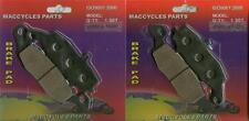 Kawasaki Disc Brake Pads VN800 Vulcan 800 1999-2006 Front & Rear (2 sets)