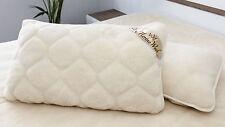 DEUX 100% Merino Wool Housse oreiller cachemire d'oreiller 45 x 75 cm nouveau