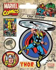 MARVEL COMICS (THOR RETRO) - VINYL STICKERS 5 PACK BY PYRAMID PS7265