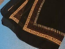 Ladies Tribal Print Sheer Scarf or Wrap - Used - SF003