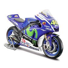 Maisto Modèle réduit de moto Miniature YAMAHA YZR-M1 MotoGP Rossi #46 1/18