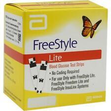 FREESTYLE Lite Teststreifen ohne Codieren 100St Teststreifen PZN 3273721