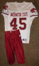 1995-96 Shawn McWashington Game Used Jersey with Pants, Washington State Cougars