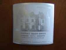 etiquette haut brion 1953 blanc