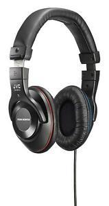 JVC Sealed Type Studio Monitor Headphone HA-MX10-B Black New in Box