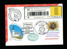 32. Reco Luftschiffpost mit Christkindl Stempel 29.11.2001  (CH25)
