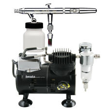 Iwata-Medea Eclipse Hp-bcs Airbrushing System with Sprint Jet Air Compressor