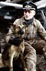 Внешний вид - WW2 Picture Photo Erich Hartmann most successful ace 352 kills and his dog 3435