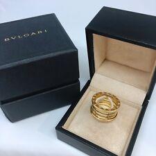 Bvlgari B-Zero1 Four Band Ring in 18kt Yellow Gold Size EU 53