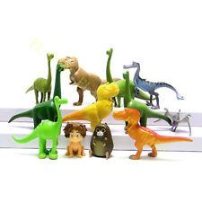 12 Pcs Cartoon The Good Dinosaur Arlo Bubbha Action Figure Model Cake Topper