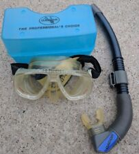 Vintage  DACOR Brand Scuba Diving Mask AND SNORKEL
