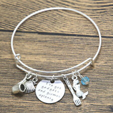 Ariel Inspired Little Mermaid bracelet I've got gadgets and gizmos Mermaid