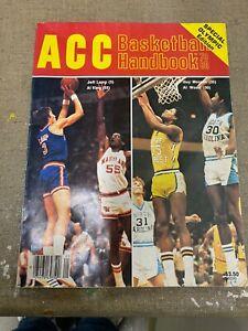 ACC BASKETBALL HANDBOOK 1979-80