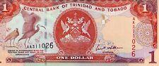 TRINIDAD AND TOBAGO 2002 1 DOLLARS CURRENCY UNC