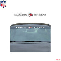 New NFL Kansas City Chiefs Car Truck SUV Windshield Window Vinyl Decal Sticker